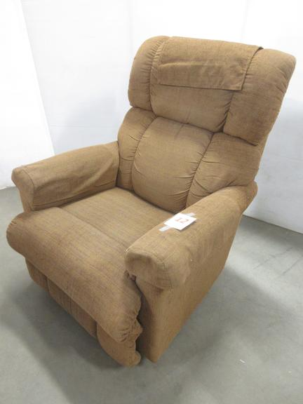 Rocker Recliner with Arm Covers and Top Cover
