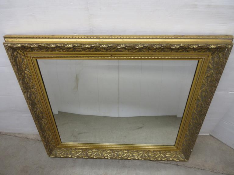 Albrecht Auctions Intricately Framed Gold Bombay Company Hallway Entryway Accent Mirror