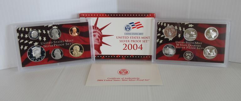 2004 11-Coin Proof Set with COA