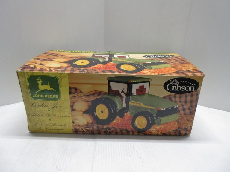 John Deere Tractor Cookie Jar