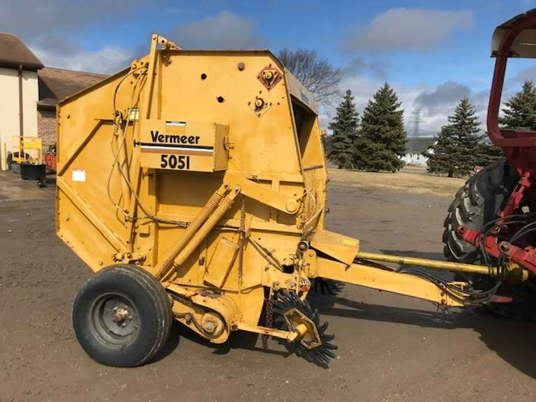 Vermeer 505I Round Baler, Works Great, Good Condition