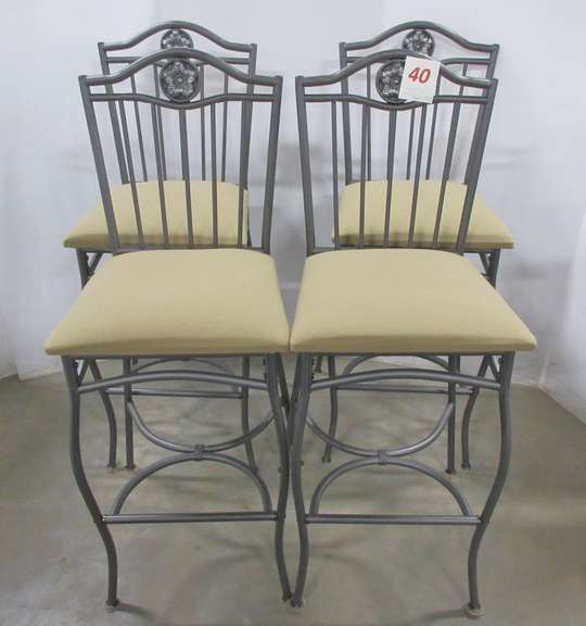 Set of (4) Matching Bar Stools