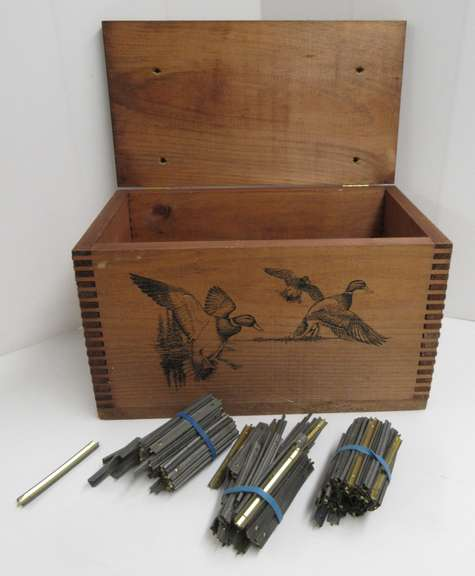 Ducks Unlimited Box, 150, 5.56mm Strippers, and (2) Starters