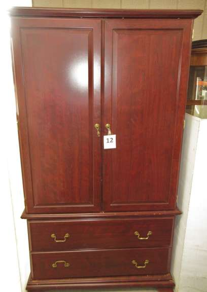 Wood Grain Armoire