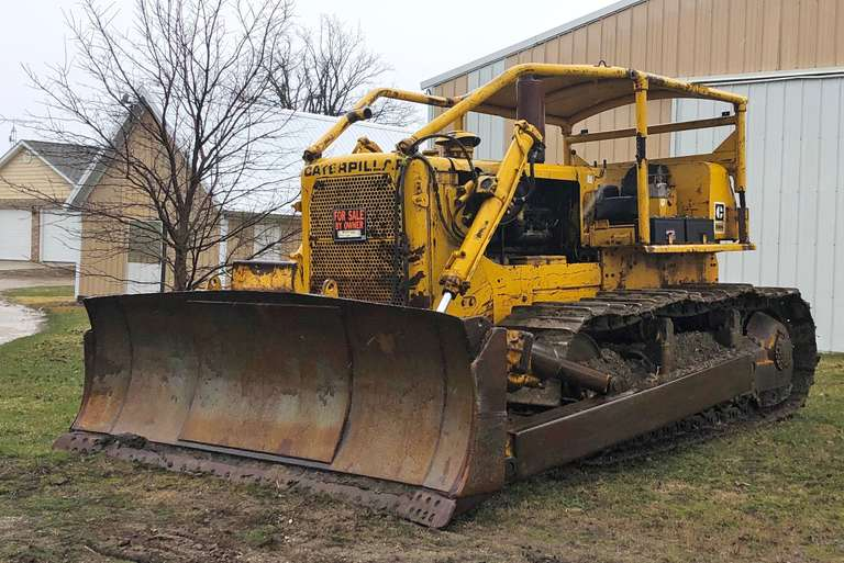 1966 D8H Dozer, Tilt Blade, Good Track and Rollers, (This thing is a beast.  If you want to push over a mountain, this is for you), Everything Works as it Should, Runs Perfectly