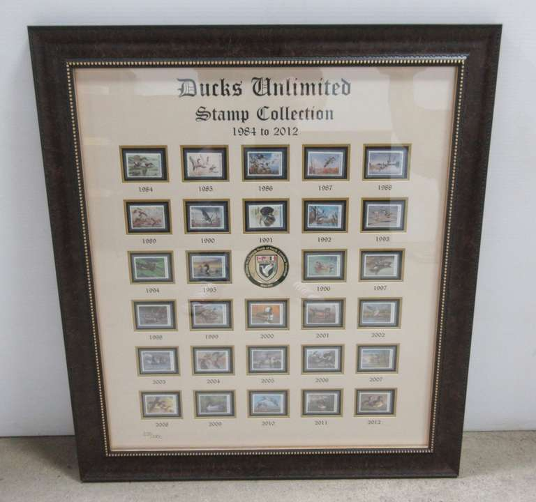 Ducks Unlimited Stamp Collection, 1984 to 2012