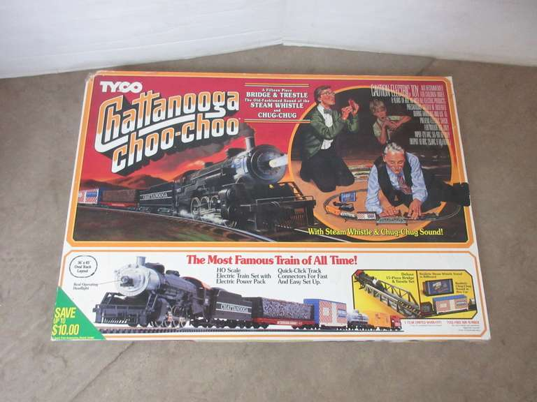Albrecht Auctions | HO Tyco Chattanooga Choo-Choo Train Set in