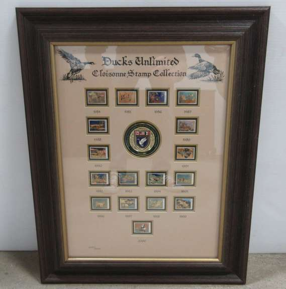 Ducks Unlimited Stamp Collection, 1984 Through 2000