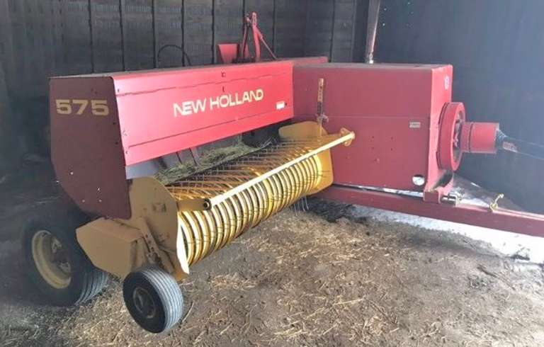 1997 New Holland 575 Small Baler, 540 PTO, Approx. 5000 Bales per Year, Works Well