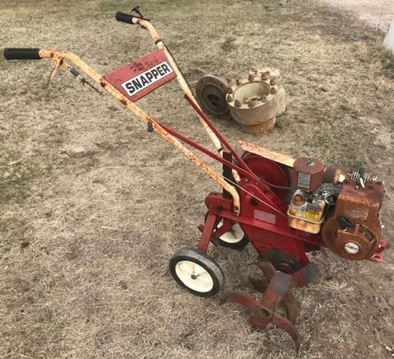 Snapper Front Tine Tiller, Runs Great