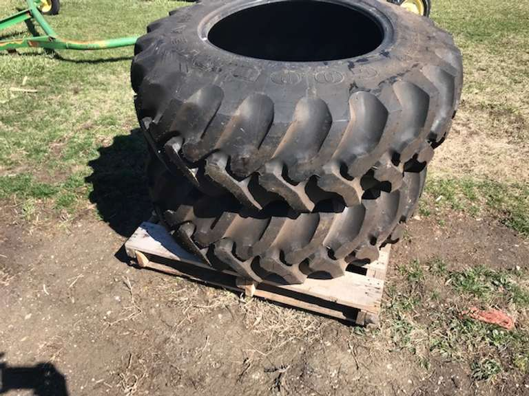 (2)-Good Year 14.9x24 Tires, 8-Ply, New