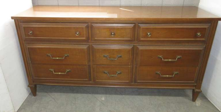 Nine-Drawer Dresser, Bassett Furniture