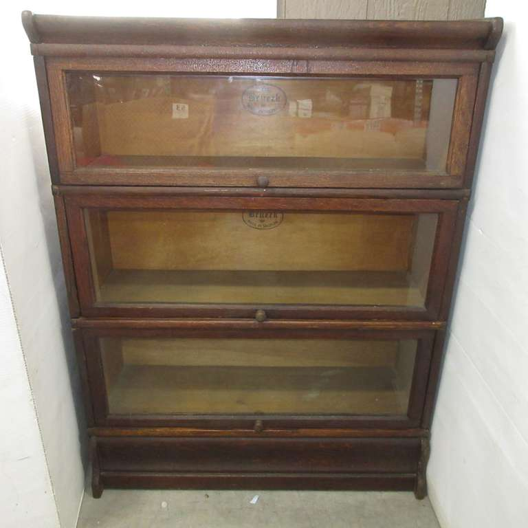 The Brueck-Barrister Bookcase, Made in Saginaw