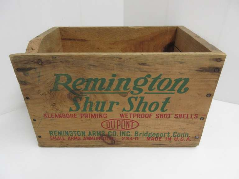 Remington 12-Gauge Box, Holds 500 Rounds