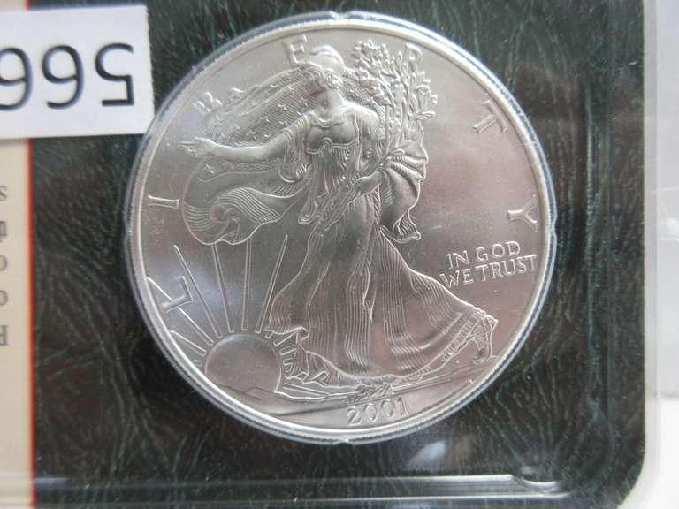 2001 D Kennedy Half Dollar • BU • #1030