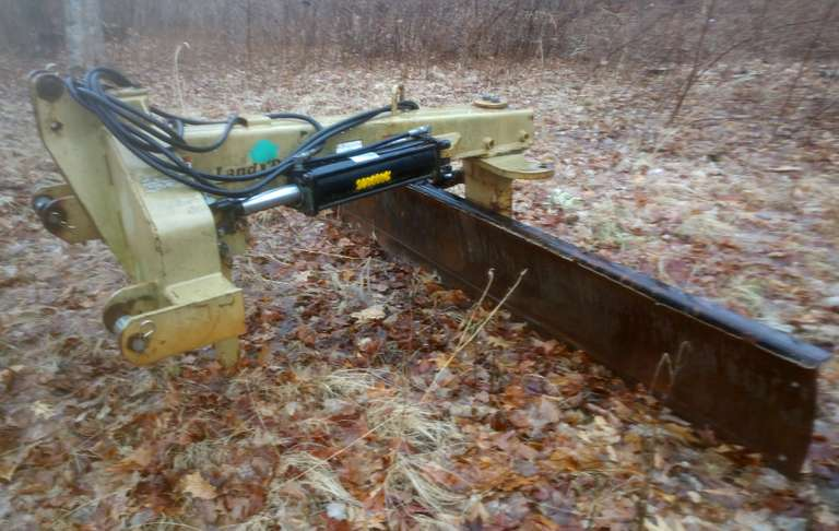 Land Pride 10' Hydraulic Straight Blade, Heavy Duty, Hardly Used