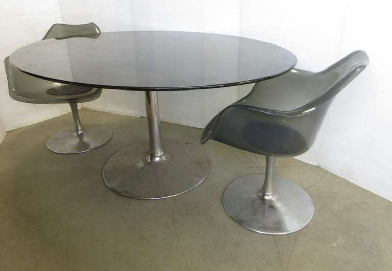 Chromcraft Tulip Chairs and Table