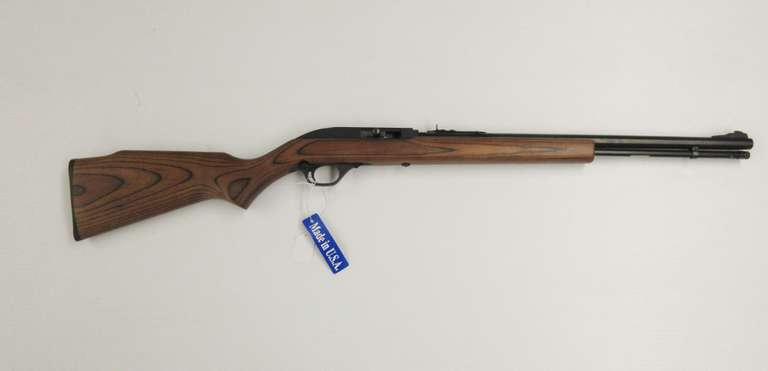 "Marlin 60 14-Shot Tube-Fed Semi-Auto .22 LR, 18"" Barrel, Walnut Stock"