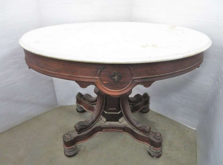 Older Marble Top Table