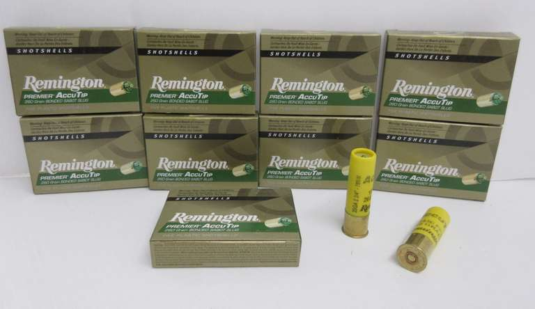 (9) Boxes of 20-Gauge Remington Accutip Sabot Slugs