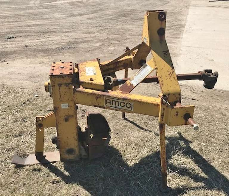AMCO 3-Point Rotary Ditcher, Model AD10-18, 1000 RPM PTO, Good Condition