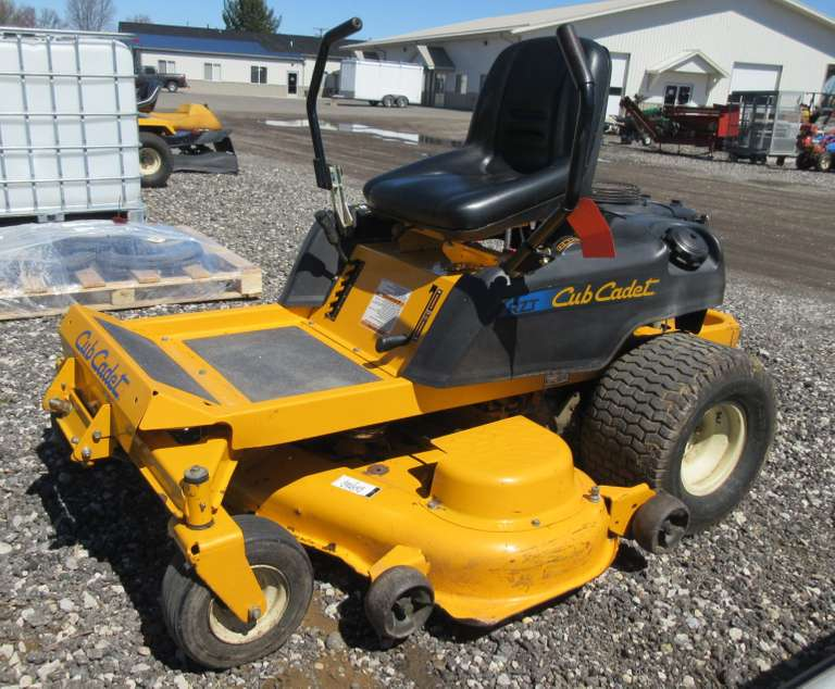 "Albrecht Auctions | Cub Cadet RZT 50"" Zero Turn Lawn Mower ..."