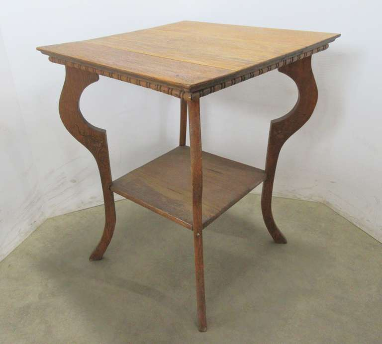 Antique Lamp Table