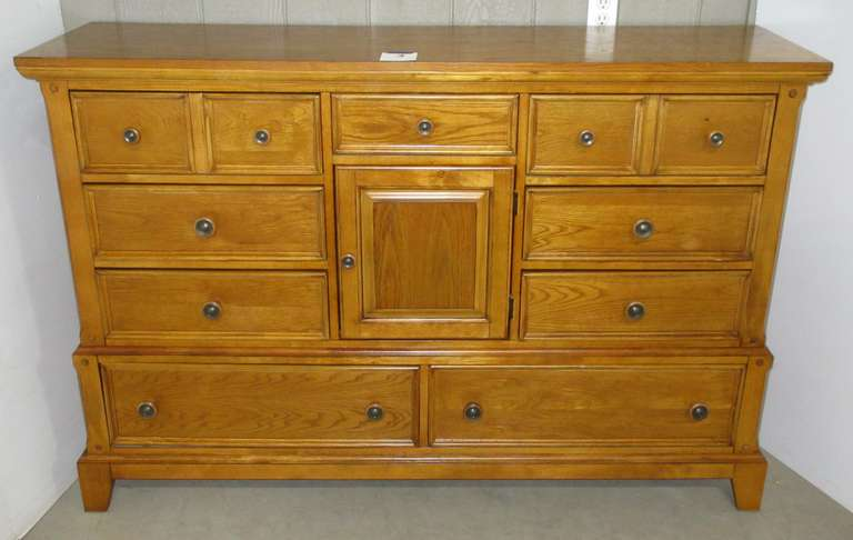 Dresser, Purchased at Art Sample Furniture in Saginaw, Matches Lot Nos. 1, 2, and 4
