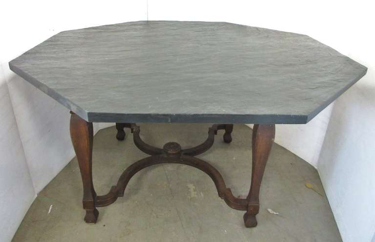 Slate Top Table