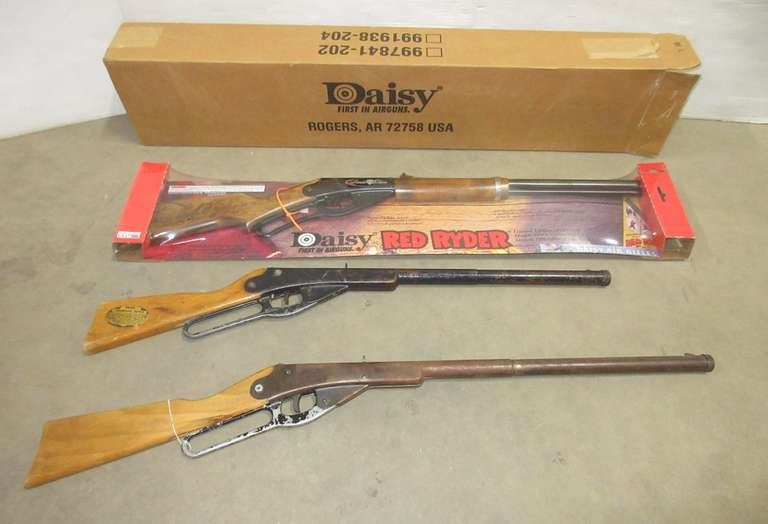 Albrecht Auctions | Red Ryder BB Gun, Limited Edition, NIB