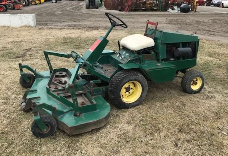 "Bobcat/Ransomes T22 72"" Cut Mower with Kubota Diesel Engine, Rear Discharge, Hydrostatic Drive (Works Good), Battery is Weak (Needs a Jump in Cold Weather), Runs Good"