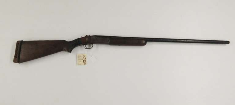 "Winchester 37 Steelbilt 12-Gauge Single Shotgun, 30"" Full Clean Bore"