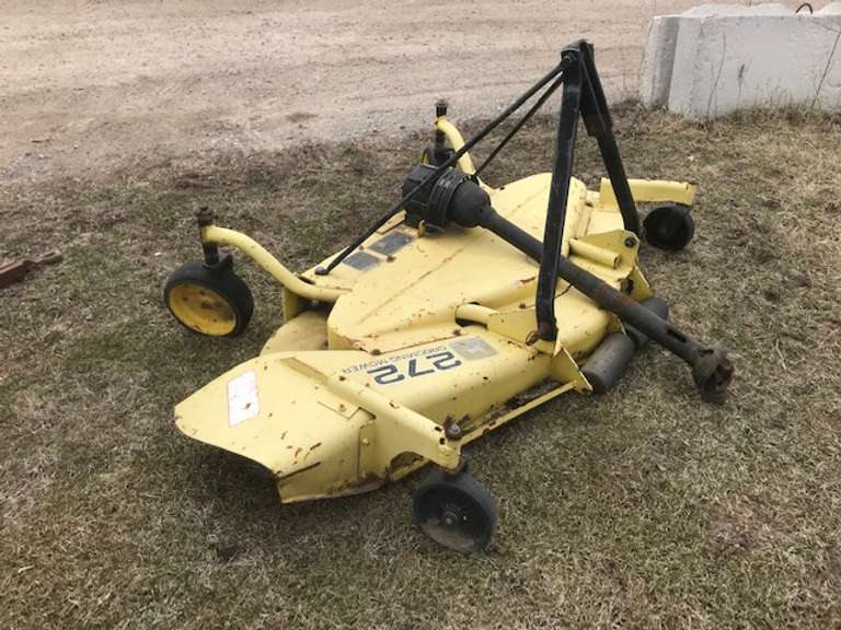 John Deere 272 6' Finish Mower, Good Condition