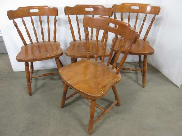 (4) Dining Room Chairs, Made in Yugoslavia