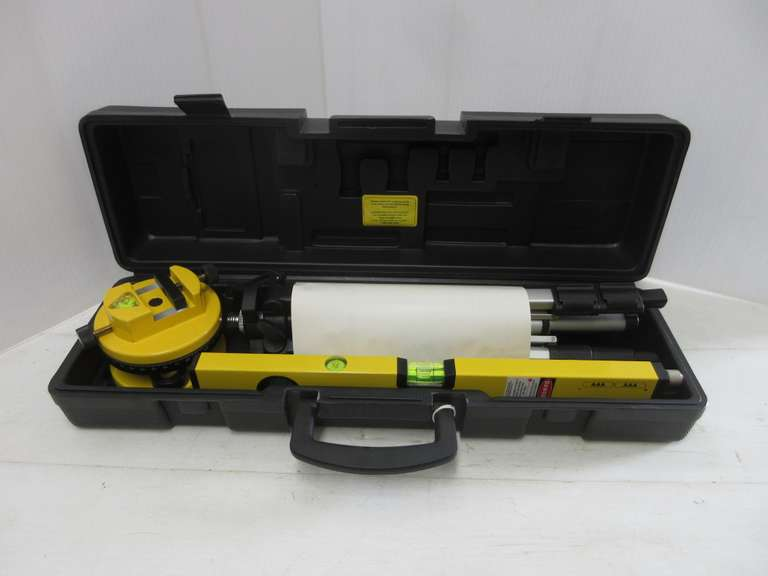 Albrecht Auctions Harbor Freight 2006 16 Laser Level With A 360 Rotating Head