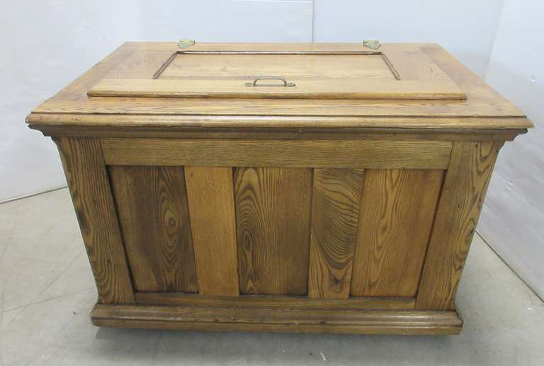 Older Cedar Lined Chest, Ice Box Style
