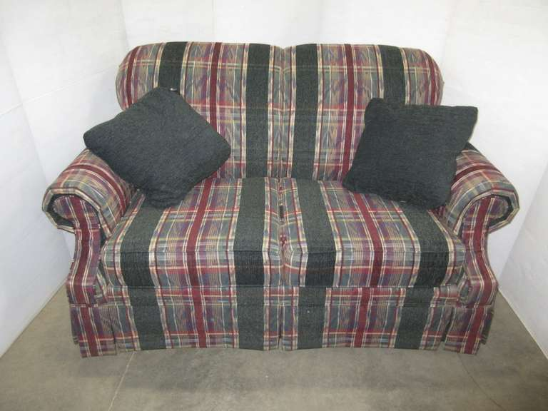 Broyhill Loveseat with Firm Cushions