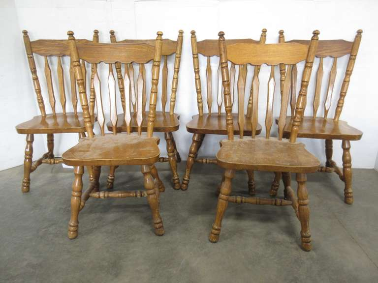 (6) Dining Room Chairs