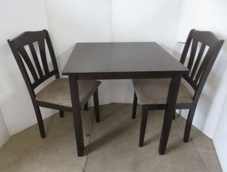Small Dinette/Kitchen Table with (2) Matching Chairs