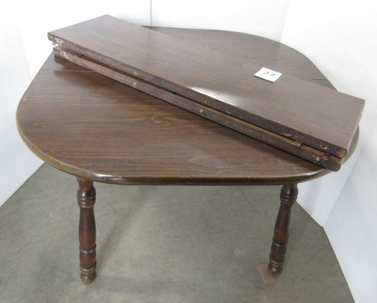 Older Wood Table with (2) Leaves