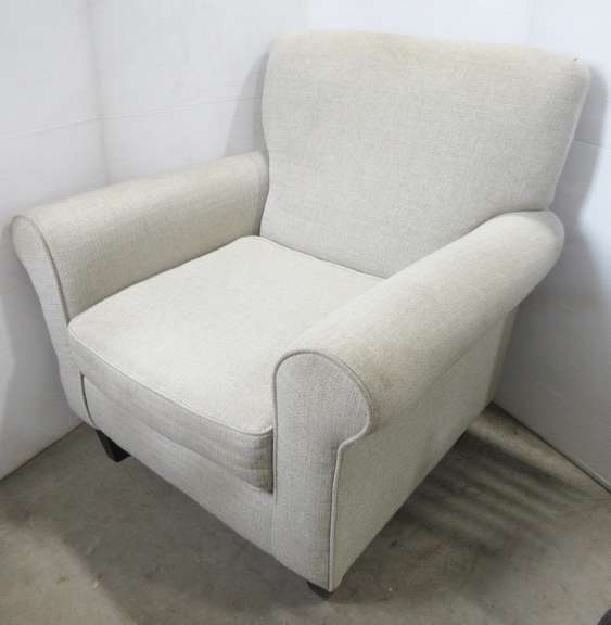 Cream Colored Sitting Chair