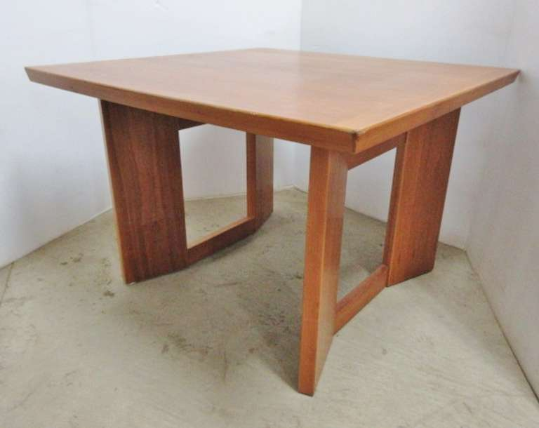 High Quality Coffee Table, Fruit Wood, Made in Denmark, VSM 679, Wood Has Nice Details