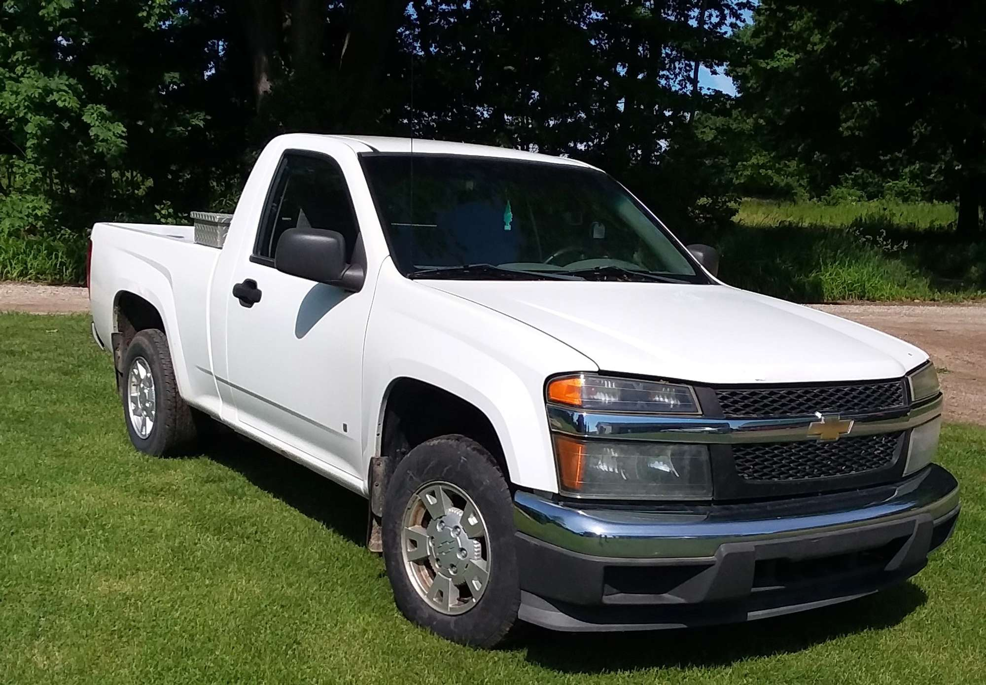 2007 colorado chevy battery pickup albrecht clear title