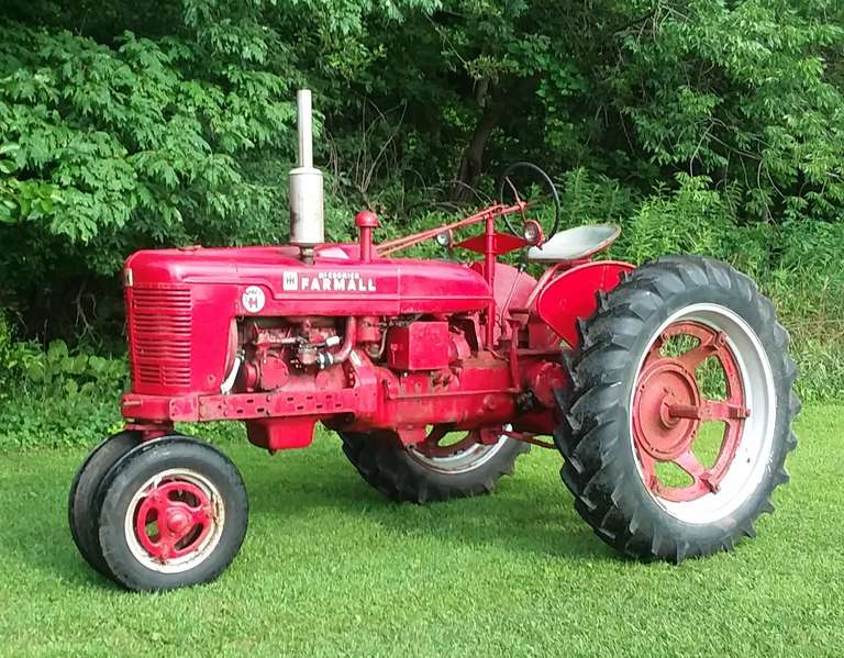 1953 Farmall Super H Tractor, Rebuilt Engine, Low Serial Number