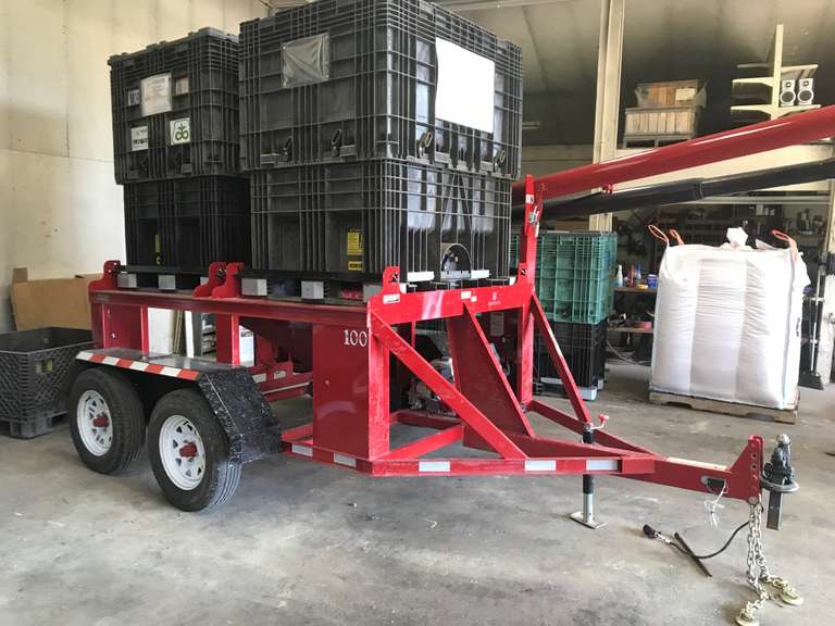 2019 Patriot Seed Tender, Two Box Unit (Boxes Not Included), Used One Season
