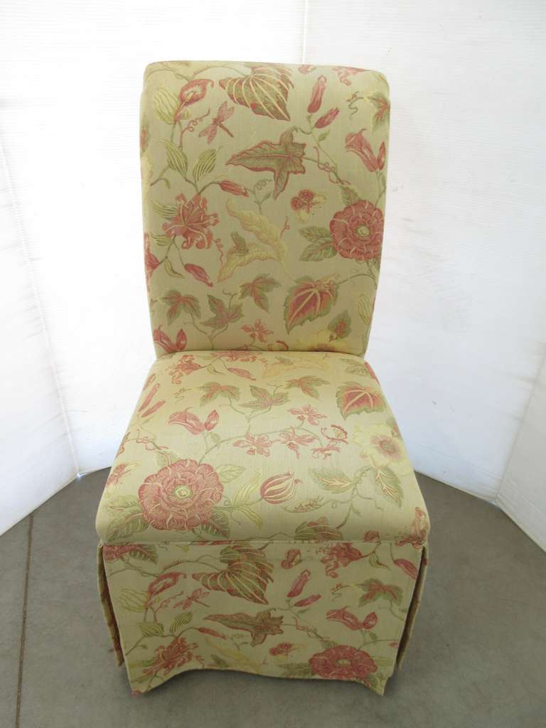 High-Back Chair with Cover
