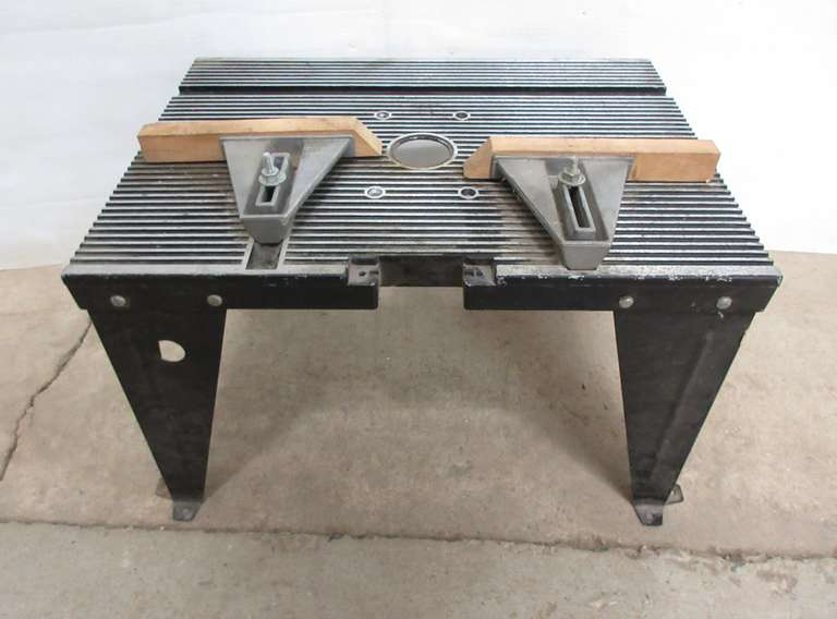 Cool Albrecht Auctions Sears Craftsman Router Table No 25444 Home Interior And Landscaping Oversignezvosmurscom