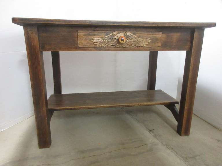 Wood Eagle Table