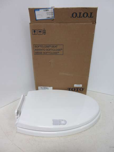 Albrecht Auctions | Toto SS114-01 Toilet Seat, Cotton Color