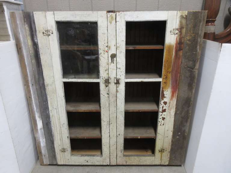 Primitive Kitchen Cabinet